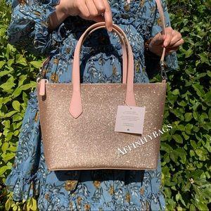 Kate spade Small Bag Joeley Satchel gold crossbody